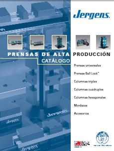 Jergens Production Vise Catalog - Espanol/Spanish