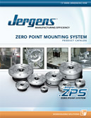 Jergens Zero Point Clamping System (ZPS) for quick change fixturing, workholding solutions