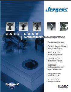 Jergens Ball Lock Catalog, Espanol, Spanish