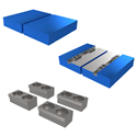 Picture for category 130mm Hydraulic Self-Centering Vise Jaws and Accessories